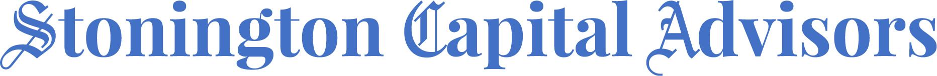 Rudgers joins Stonington Capital Advisors – Stonington Capital Advisors